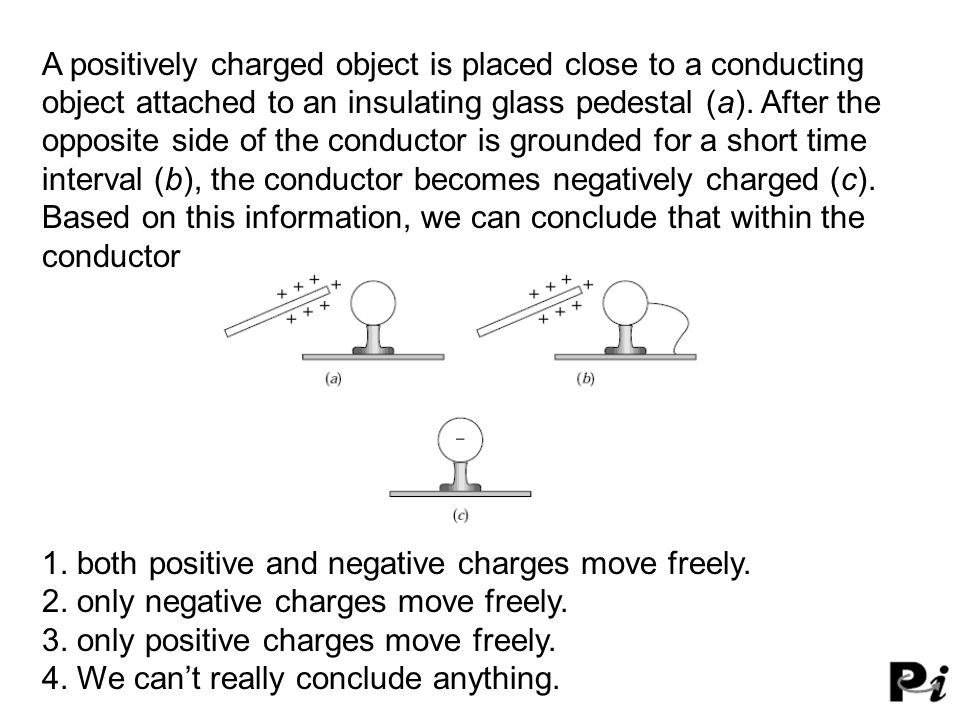 1. both positive and negative charges move freely.