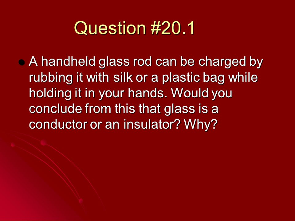 Question #20.1