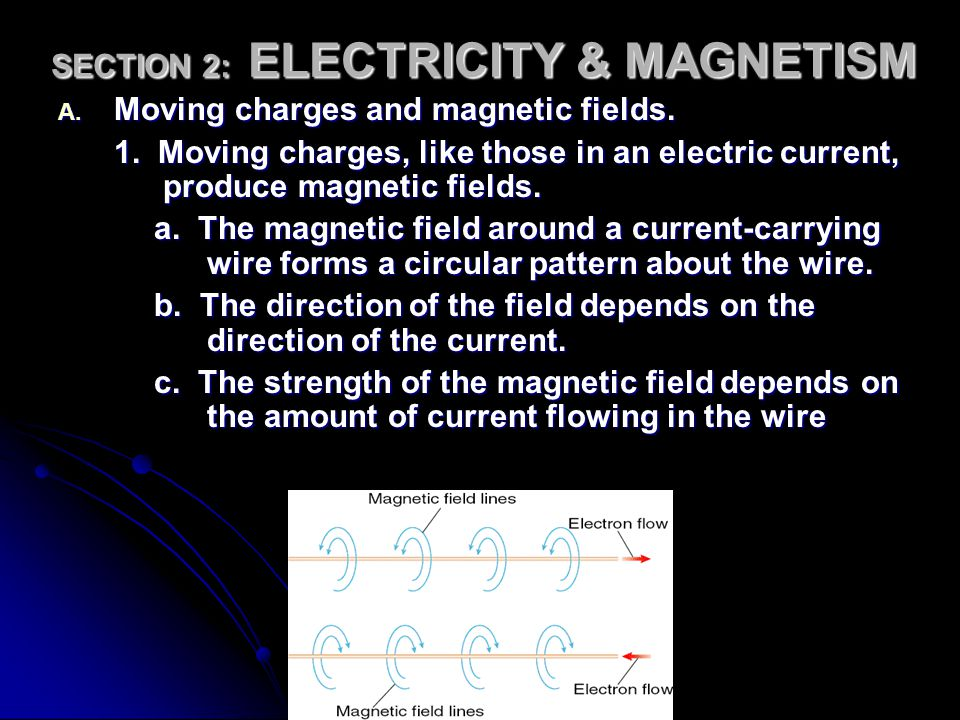 SECTION 2: ELECTRICITY & MAGNETISM