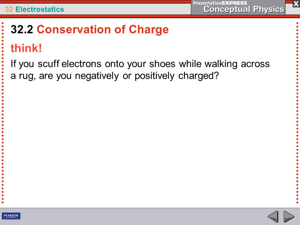 32.2 Conservation of Charge