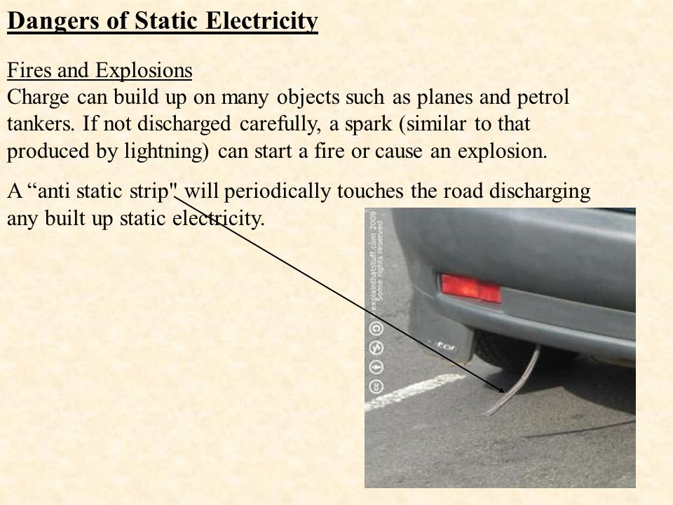 Dangers of Static Electricity