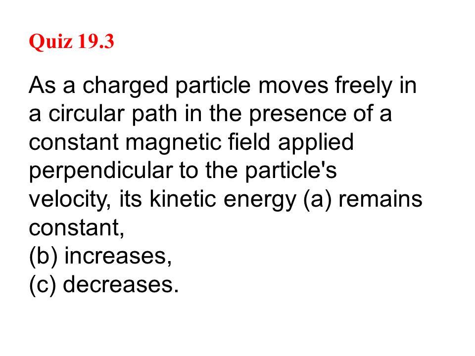 Quiz 19.3