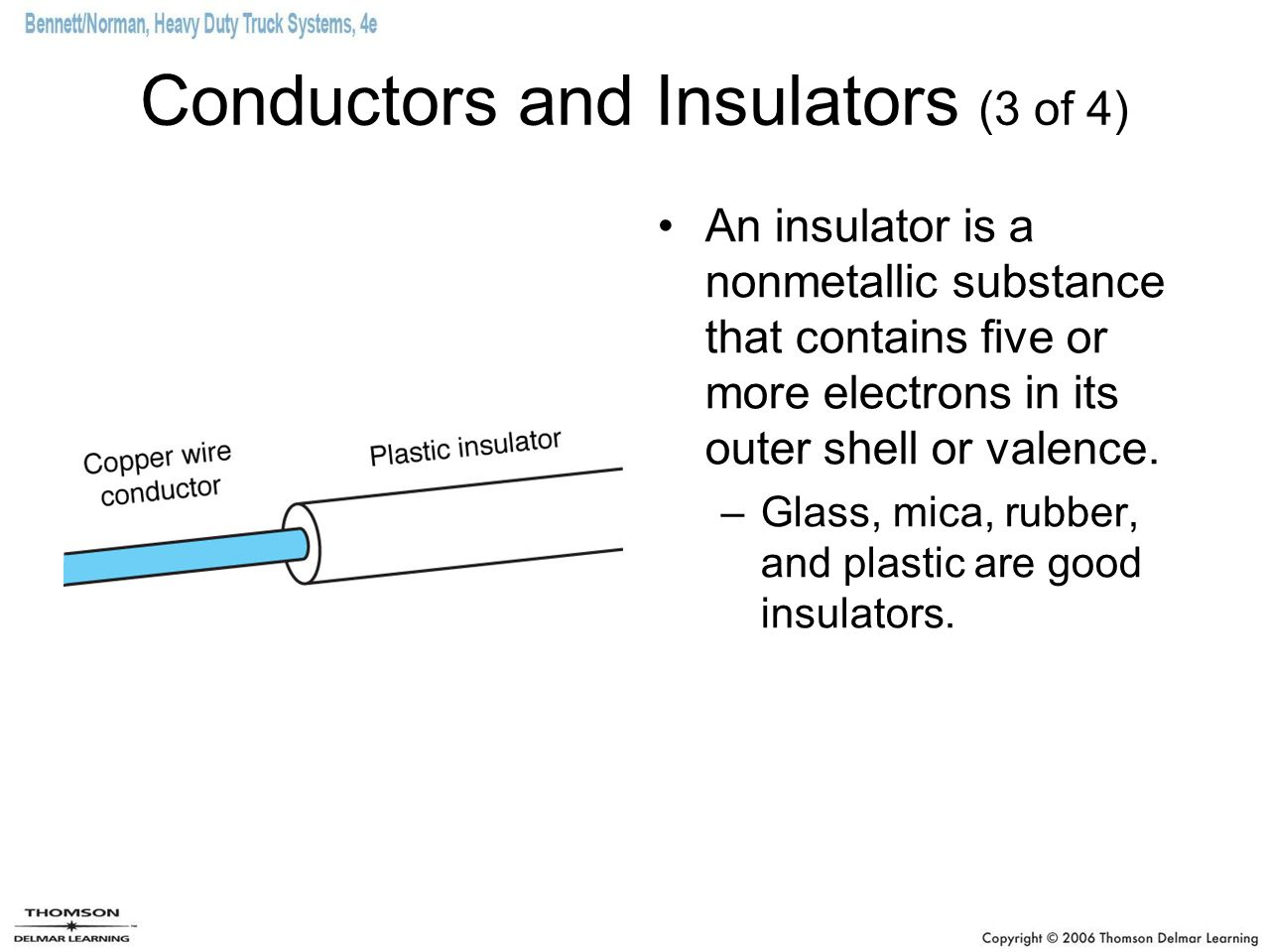 Conductors and Insulators (3 of 4)