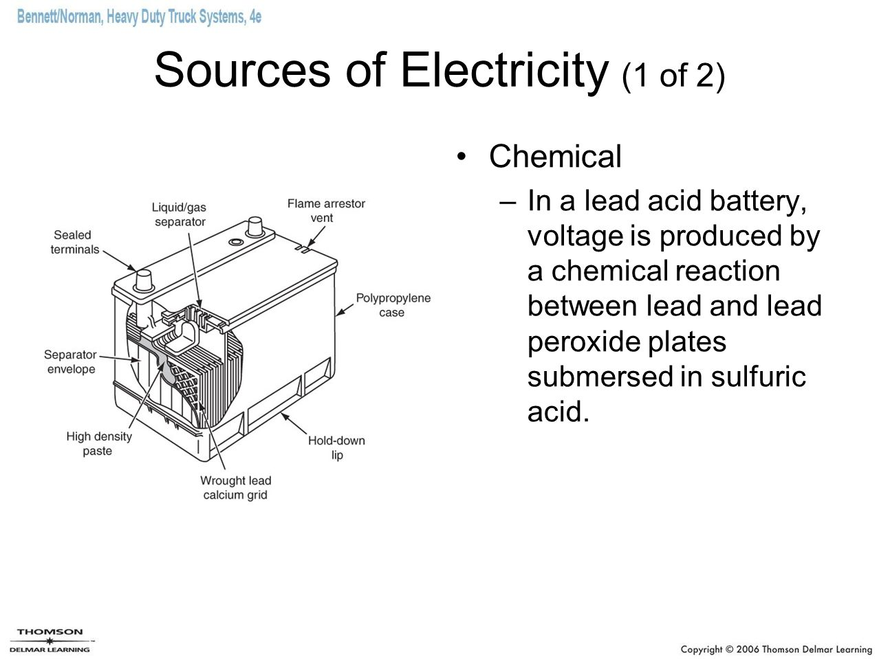 Sources of Electricity (1 of 2)