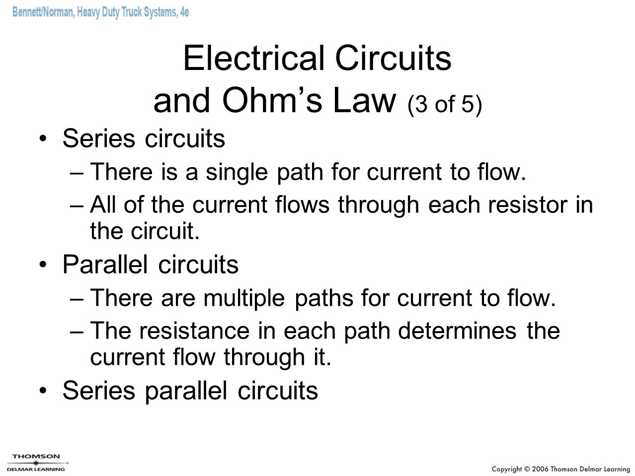 Electrical Circuits and Ohm's Law (3 of 5)