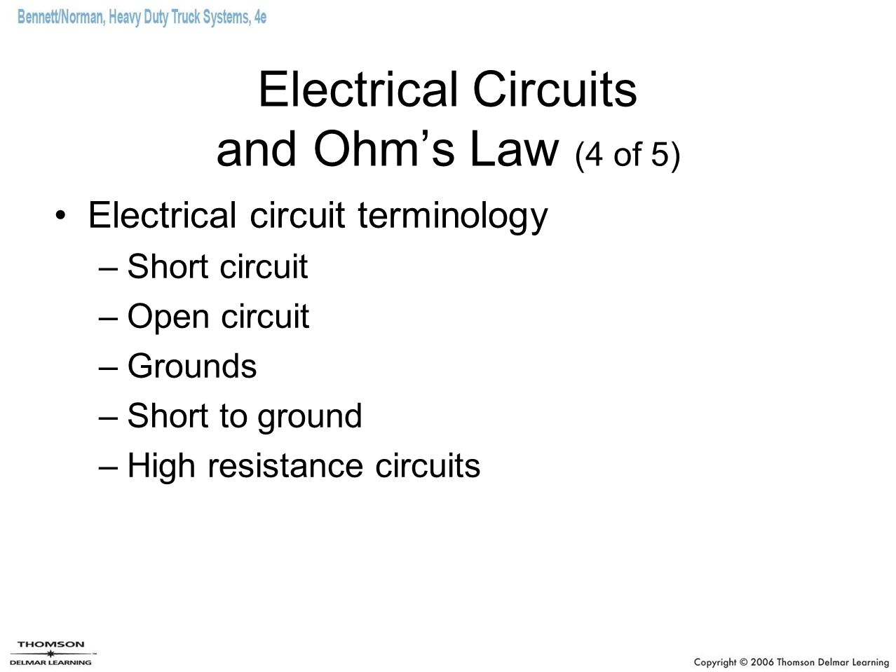 Electrical Circuits and Ohm's Law (4 of 5)