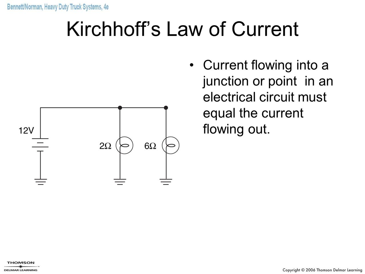 Kirchhoff's Law of Current