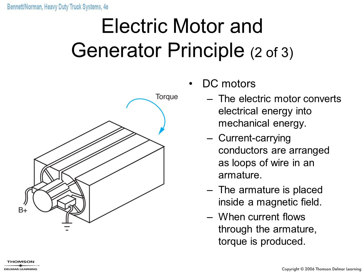 Electric Motor and Generator Principle (2 of 3)