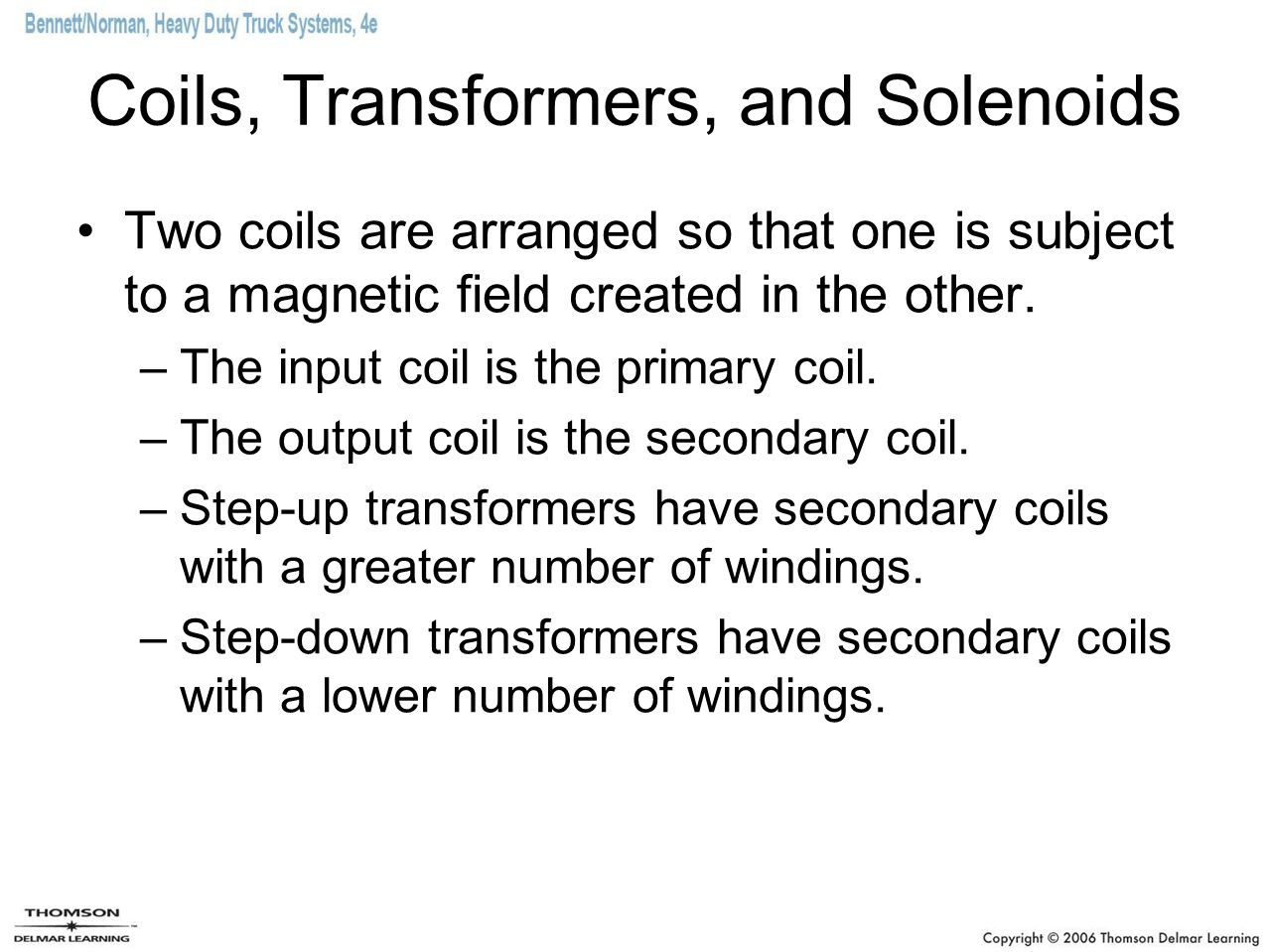 Coils, Transformers, and Solenoids