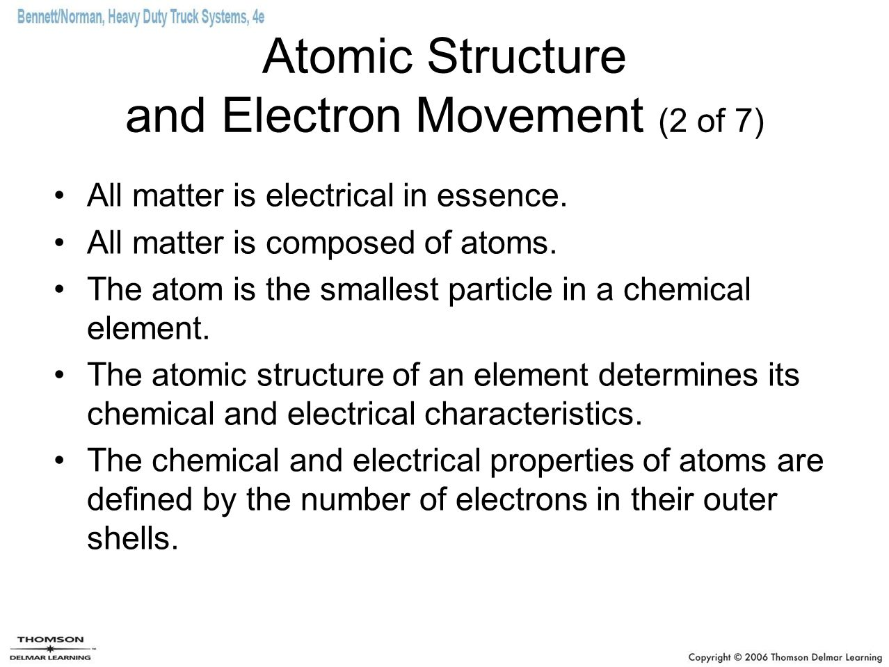 Atomic Structure and Electron Movement (2 of 7)