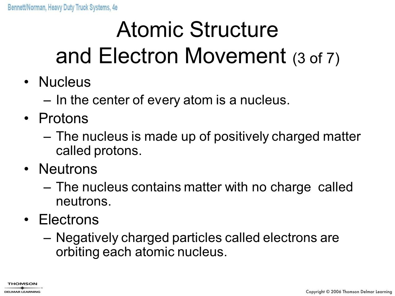 Atomic Structure and Electron Movement (3 of 7)