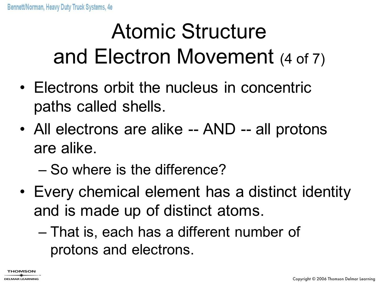 Atomic Structure and Electron Movement (4 of 7)