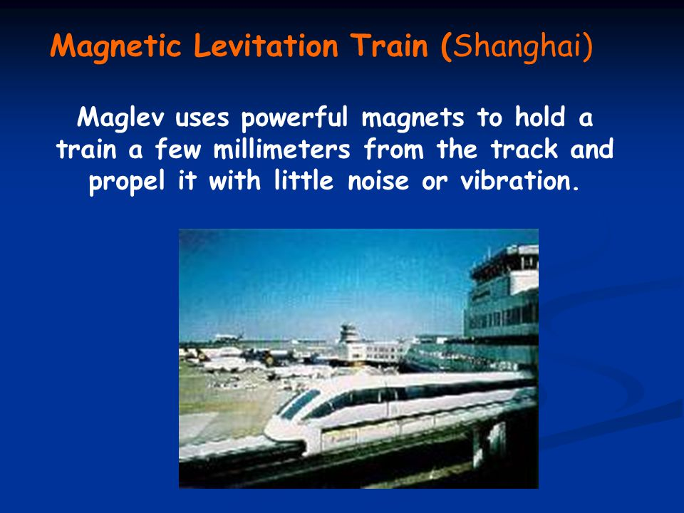 Magnetic Levitation Train (Shanghai)