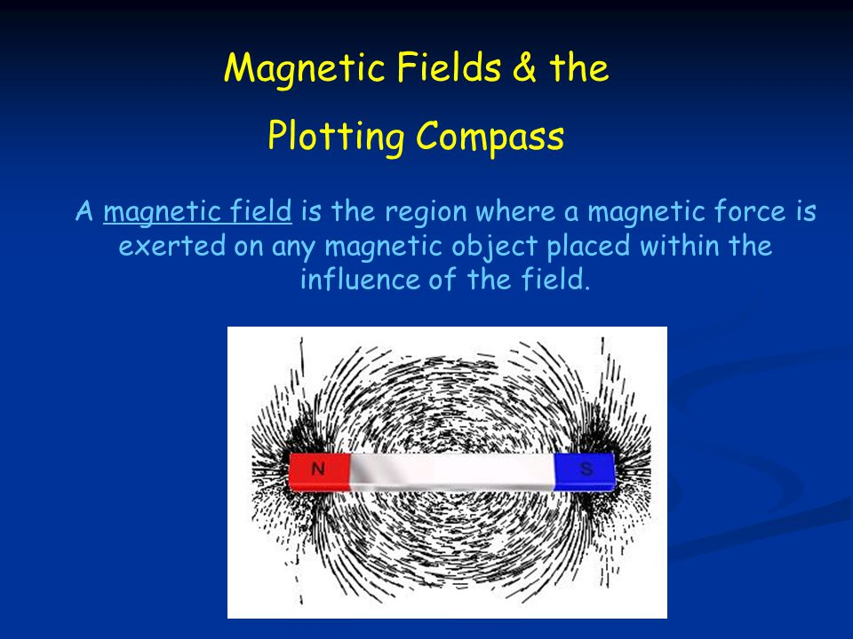 Magnetic Fields & the Plotting Compass