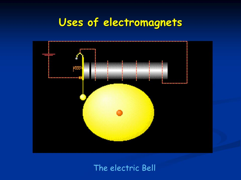 how to make an electric bell using electromagnets