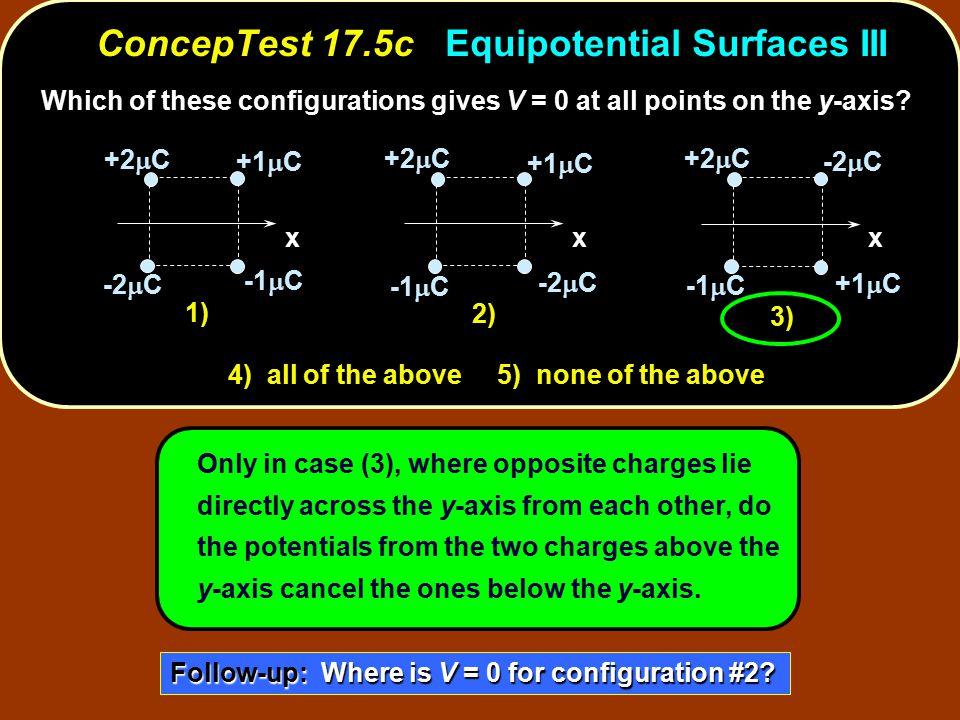 ConcepTest 17.5c Equipotential Surfaces III