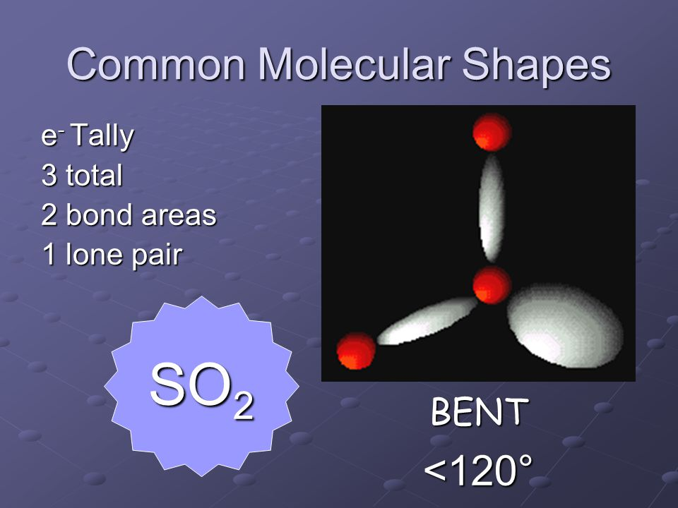 Common Molecular Shapes