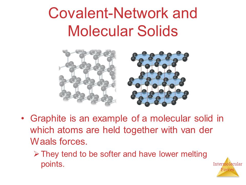 Covalent-Network and Molecular Solids