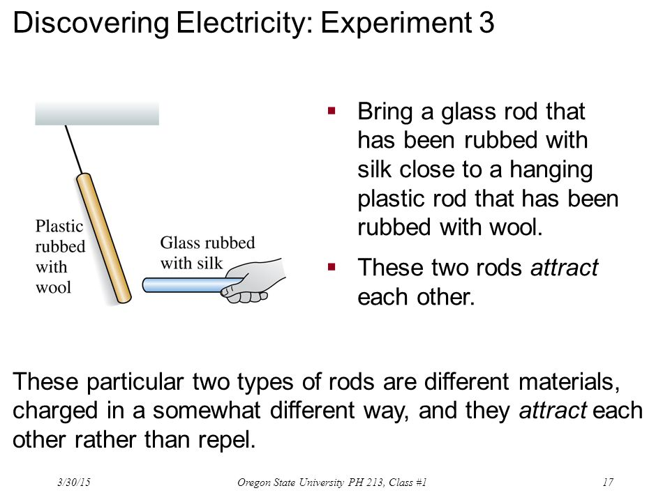 Discovering Electricity: Experiment 3