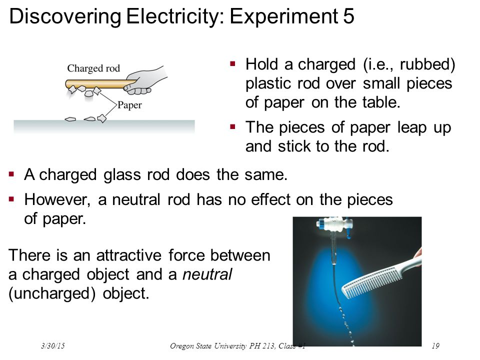 Discovering Electricity: Experiment 5