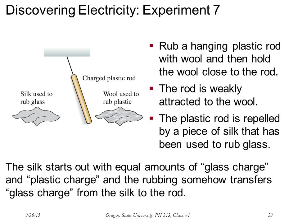 Discovering Electricity: Experiment 7