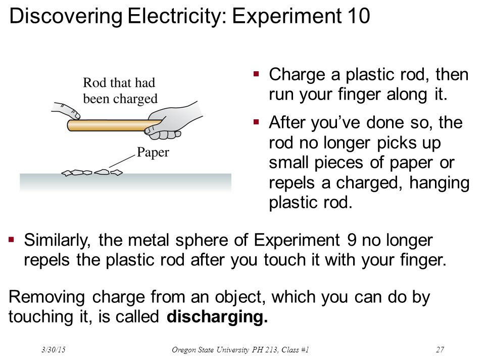 Discovering Electricity: Experiment 10