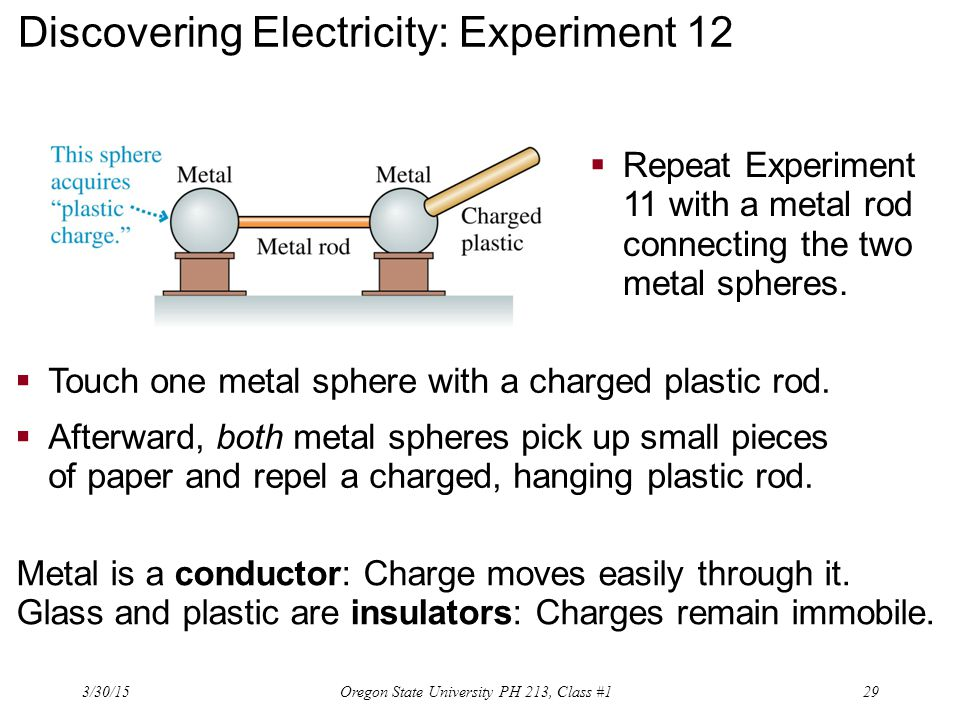 Discovering Electricity: Experiment 12
