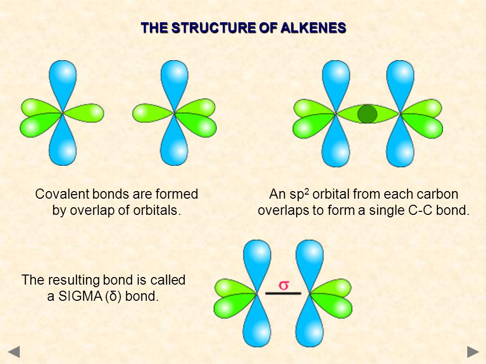 THE STRUCTURE OF ALKENES