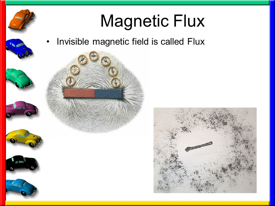 Magnetic Flux Invisible magnetic field is called Flux