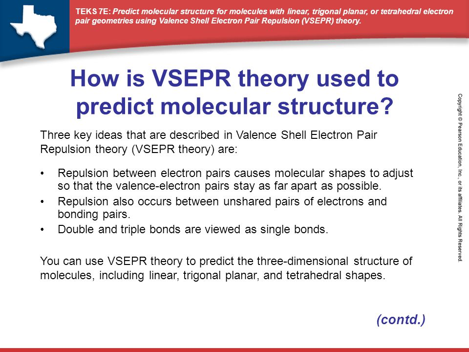 How is VSEPR theory used to predict molecular structure