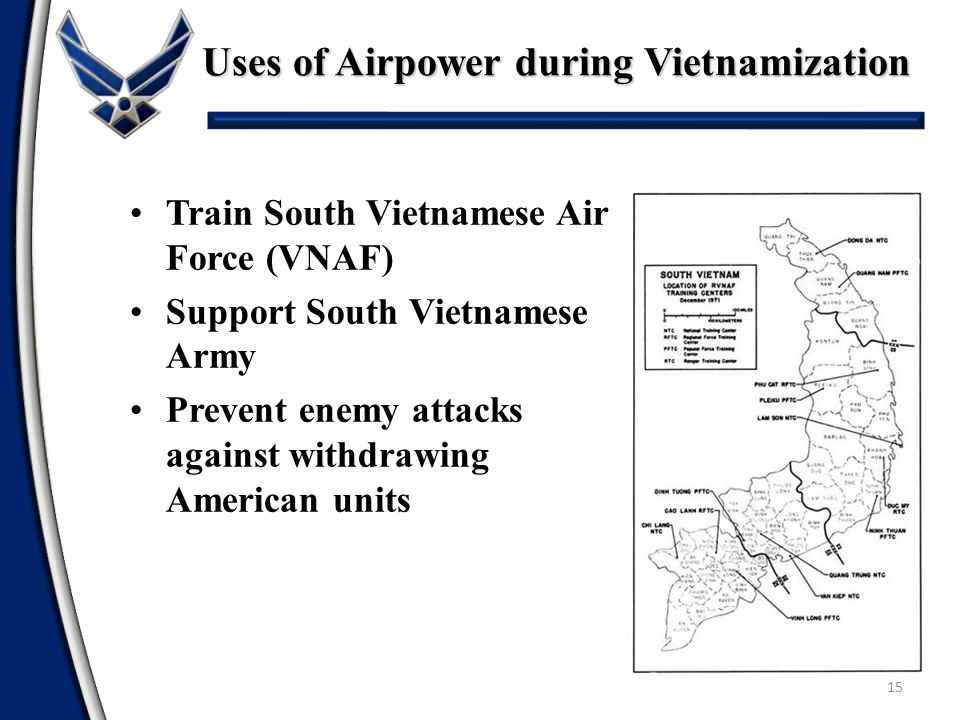 Uses of Airpower during Vietnamization