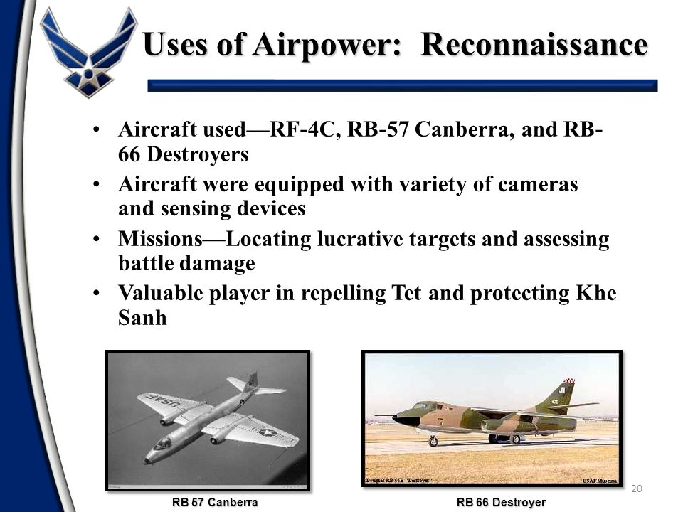Uses of Airpower: Reconnaissance