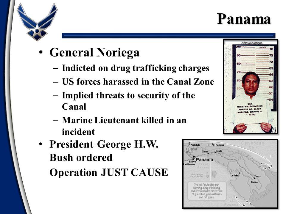 Panama General Noriega