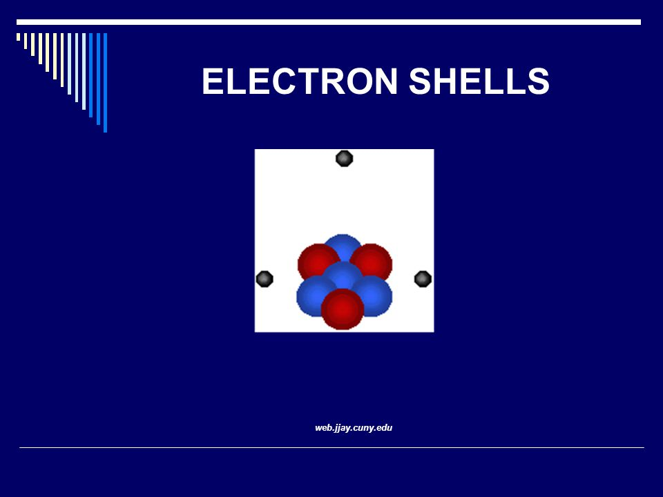 ELECTRON SHELLS web.jjay.cuny.edu