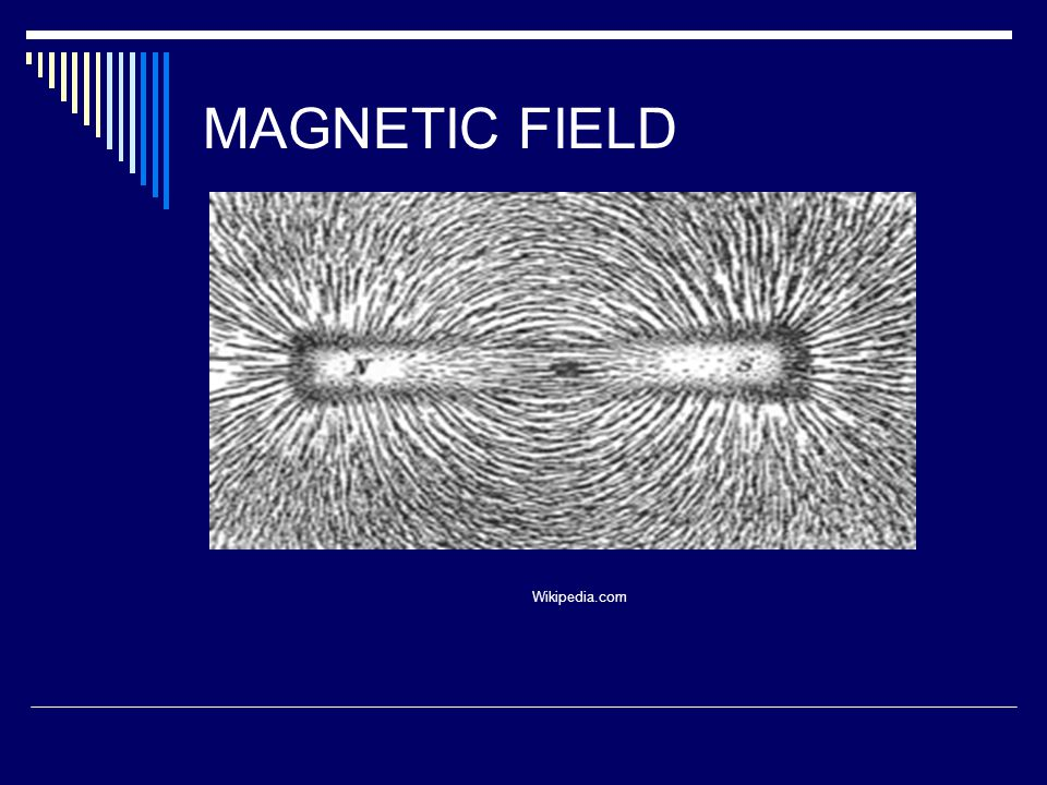 MAGNETIC FIELD Wikipedia.com