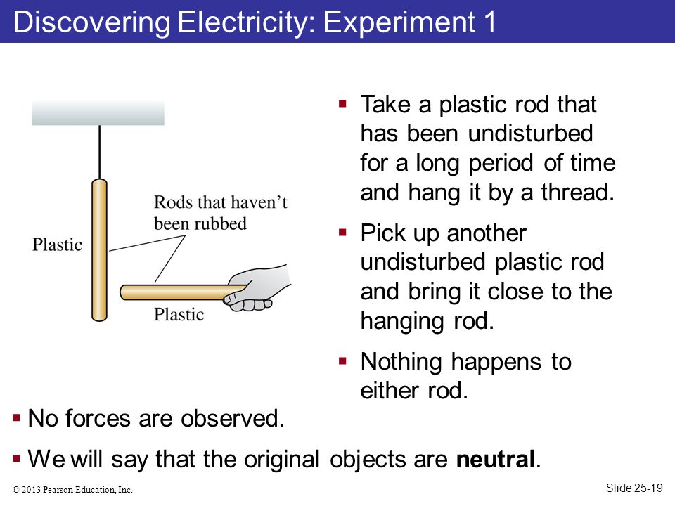 Discovering Electricity: Experiment 1