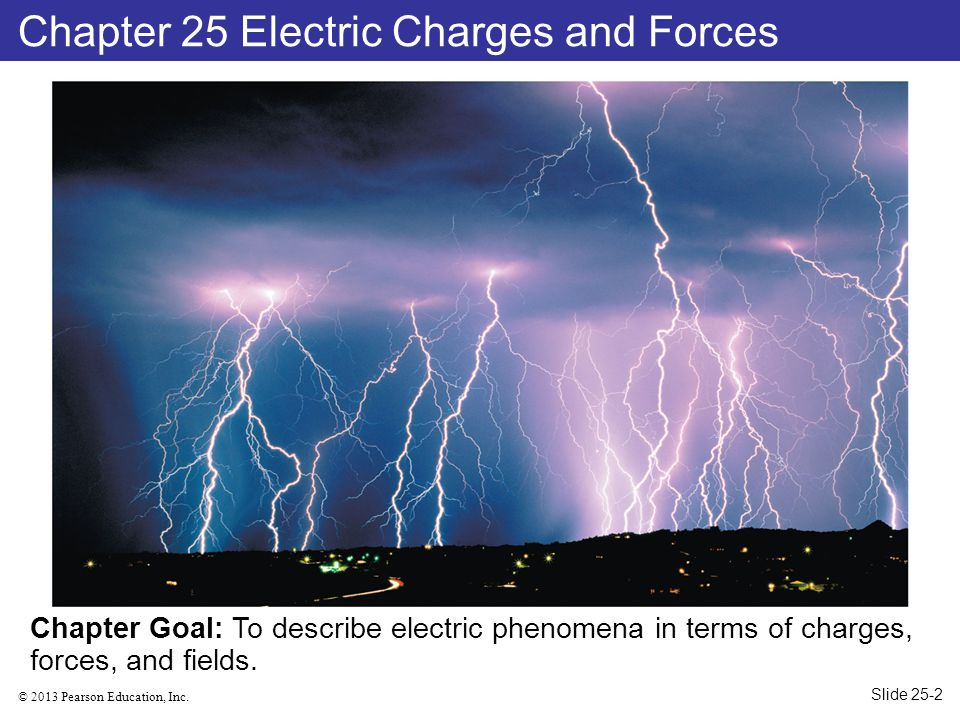 Chapter 25 Electric Charges and Forces