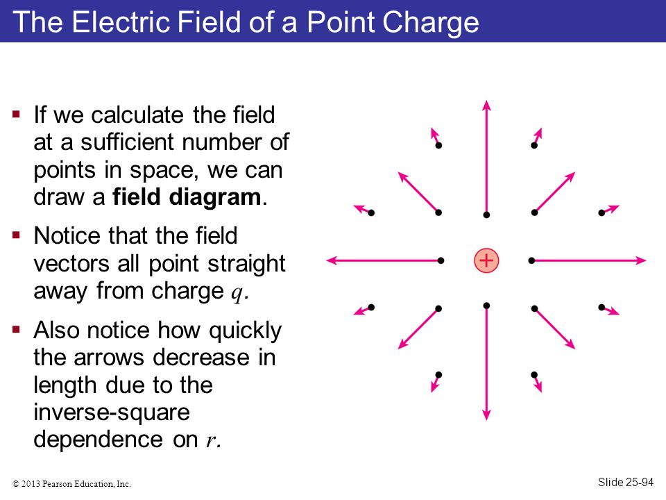The Electric Field of a Point Charge