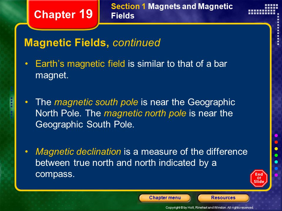 Magnetic Fields, continued