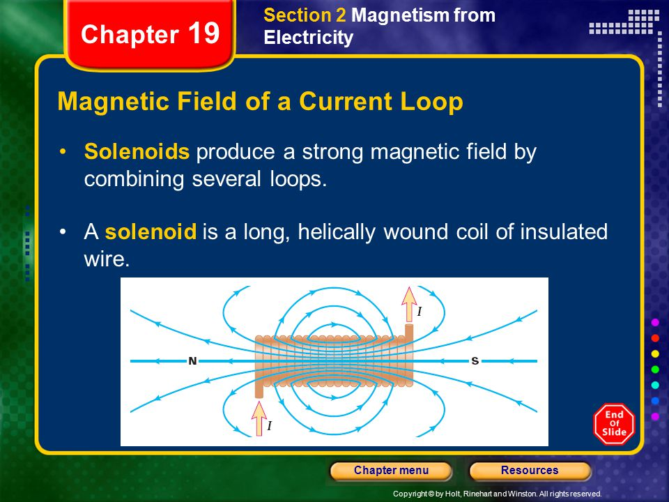Magnetic Field of a Current Loop