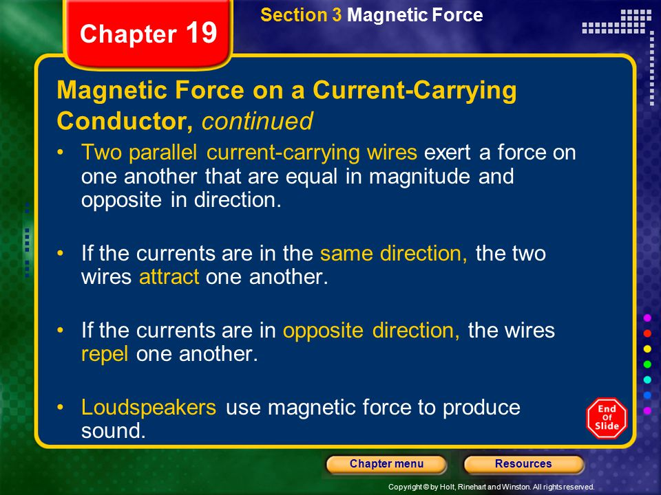 Magnetic Force on a Current-Carrying Conductor, continued