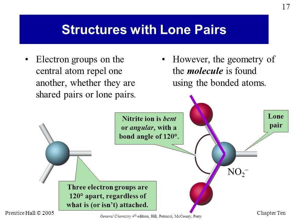 Structures with Lone Pairs