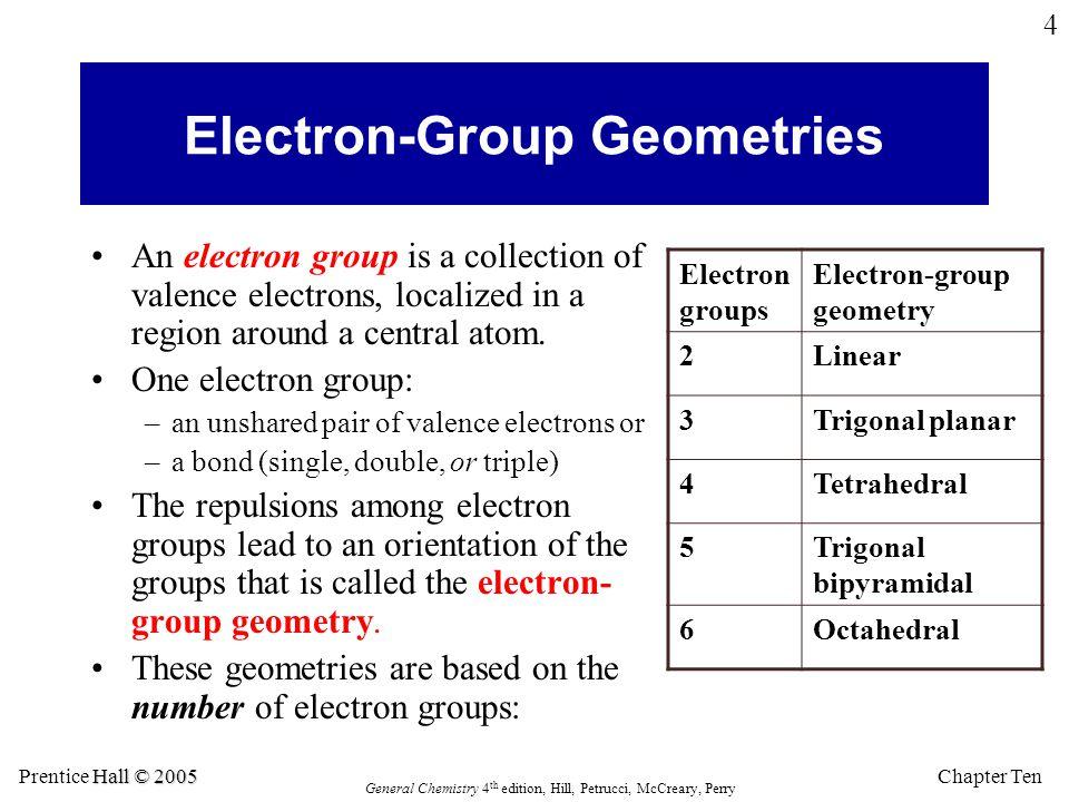 Electron-Group Geometries