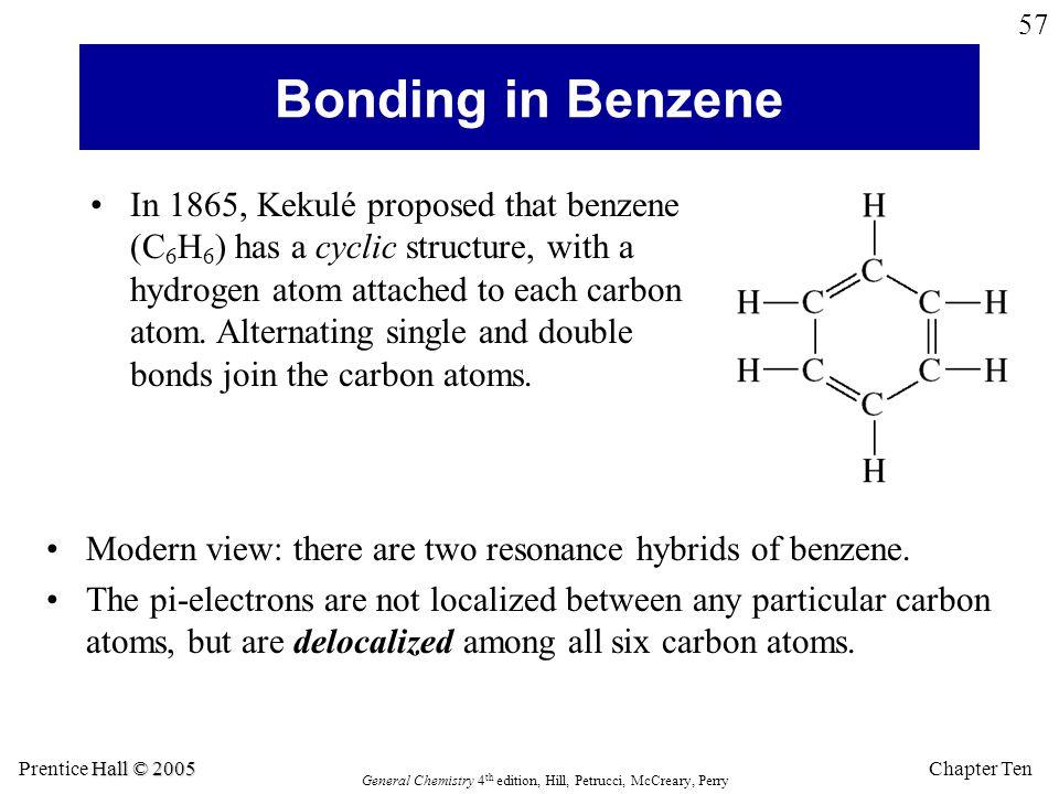 Bonding in Benzene