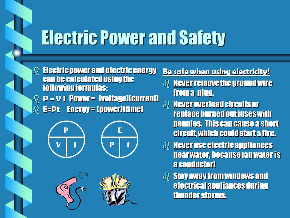 Electric Power and Safety