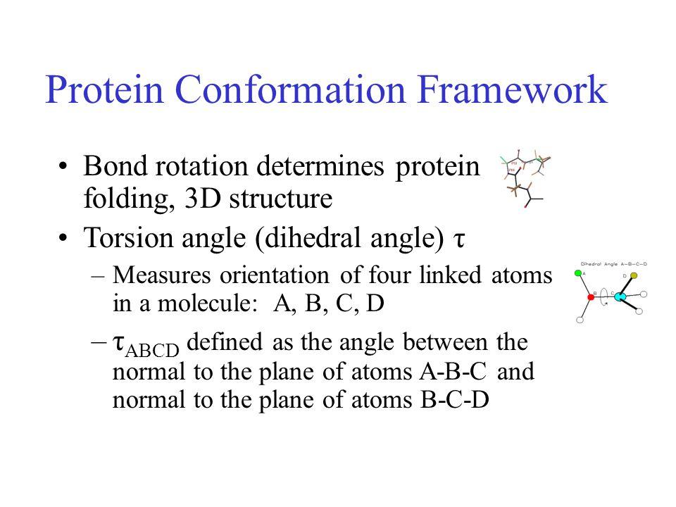 Protein Conformation Framework