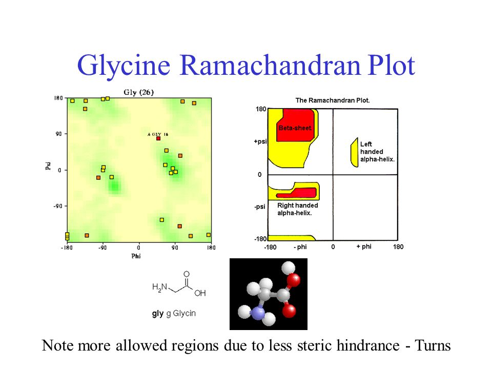 Glycine Ramachandran Plot