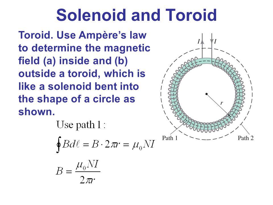 Solenoid and Toroid