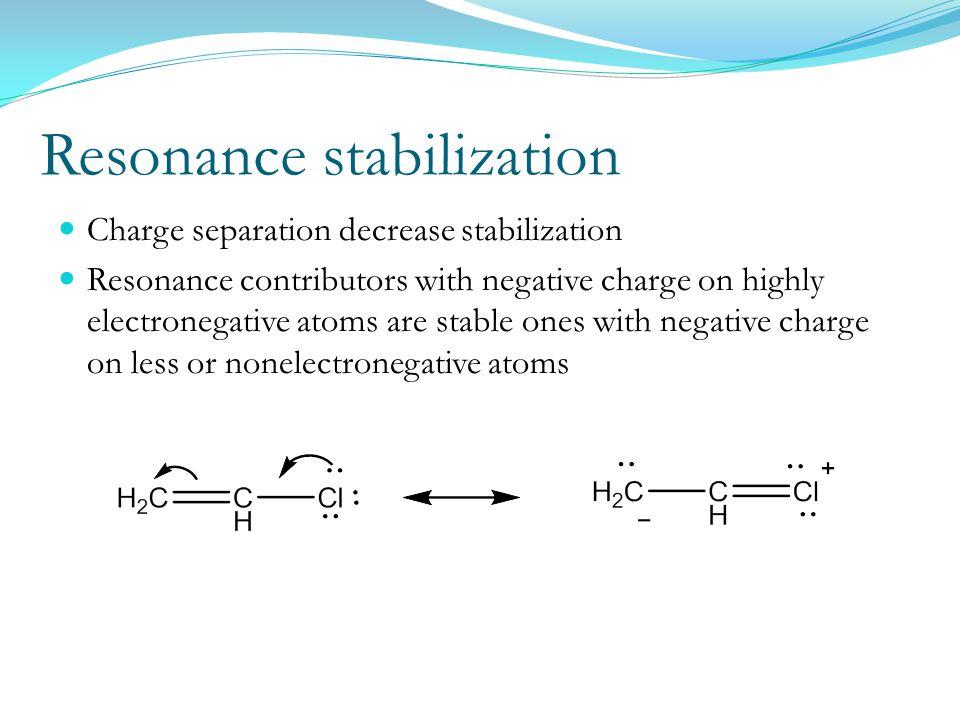 Resonance stabilization