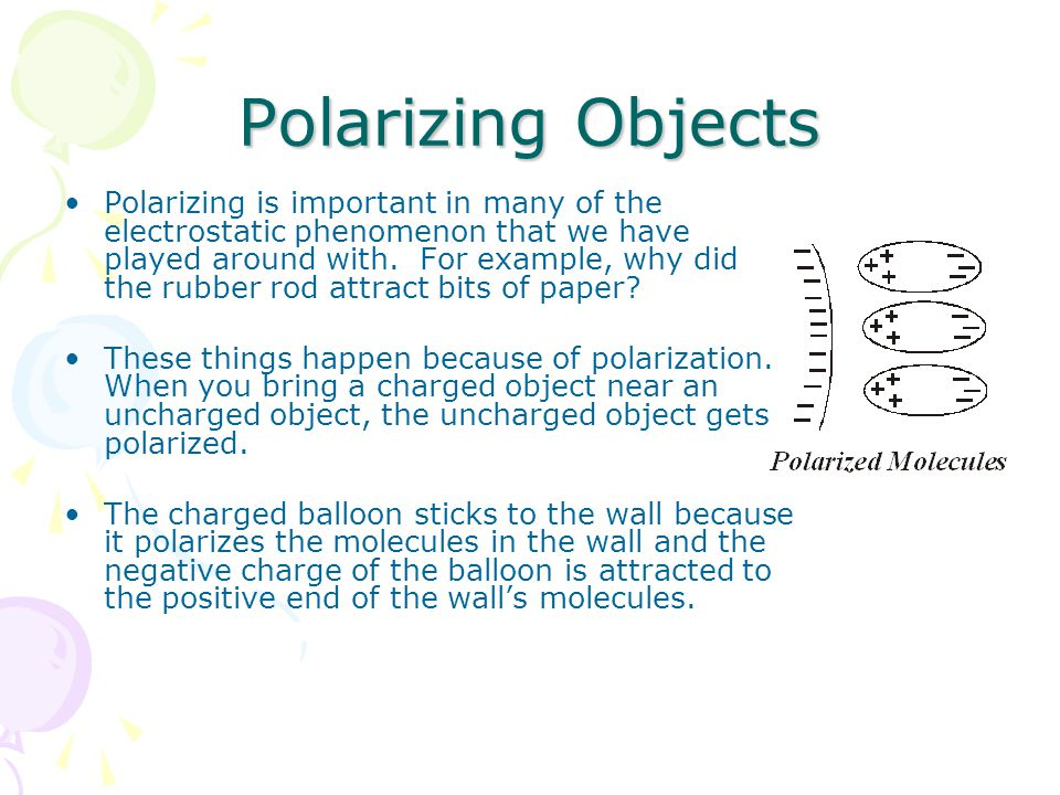 Polarizing Objects